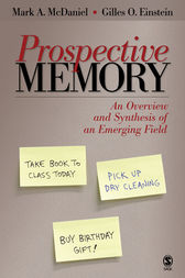 Prospective Memory by Mark A. McDaniel