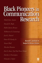 Black Pioneers in Communication Research by Ronald L. Jackson