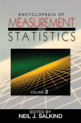 Encyclopedia of Measurement and Statistics by Neil J. Salkind