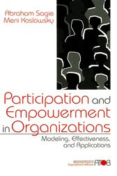 Participation and Empowerment in Organizations by Lisa Mainiero