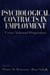 Psychological Contracts in Employment by Denise M. Rousseau