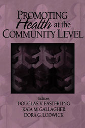 Promoting Health at the Community Level by Doug V. Easterling