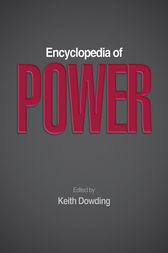 Encyclopedia of Power by Keith Dowding