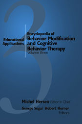 Encyclopedia of Behavior Modification and Cognitive Behavior Therapy by Michel Hersen
