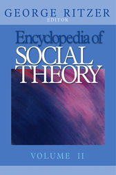 Encyclopedia of Social Theory by George Ritzer