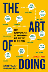 The Art of Doing by Camille Sweeney