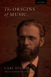 The Origins of Music by Carl Stumpf