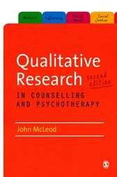 Qualitative Research in Counselling and Psychotherapy by John McLeod
