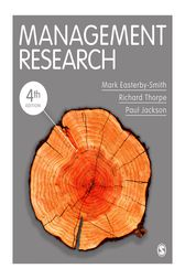 Management Research by Mark Easterby-Smith
