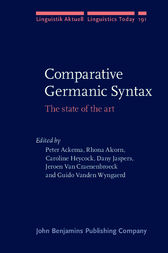 Comparative Germanic Syntax by Peter Ackema