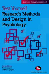 Test Yourself: Research Methods and Design in Psychology by Penney Upton