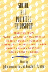Social and Political Philosophy by John Somerville