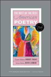 Best of the Best American Poetry by David Lehman