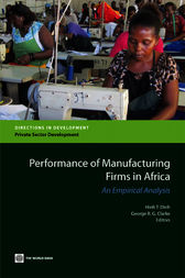 Performance of Manufacturing Firms in Africa by Hinh T. Dinh