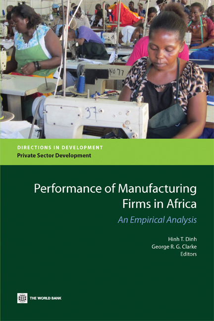 Download Ebook Performance of Manufacturing Firms in Africa by Hinh T. Dinh Pdf