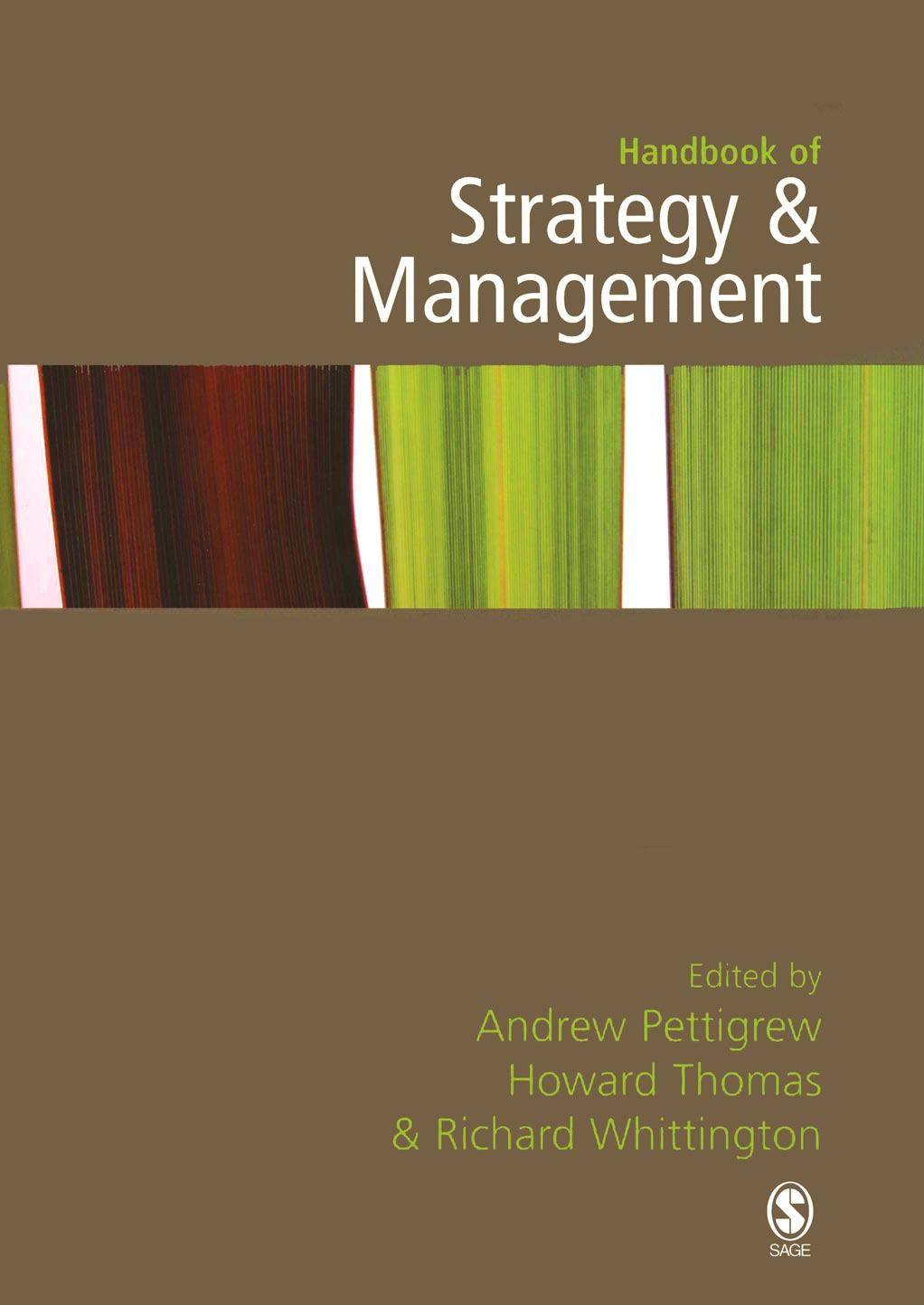 Download Ebook Handbook of Strategy and Management by Andrew M Pettigrew Pdf