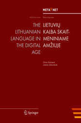 The Lithuanian Language in the Digital Age by Georg Rehm