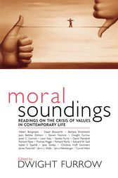 Moral Soundings by Dwight Furrow