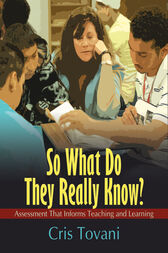 So What Do They Really Know? by Cris Tovani