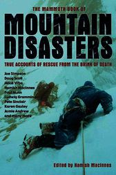 The Mammoth Book of Mountain Disasters by Hamish MacInnes