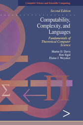 Computability, Complexity, and Languages by Martin Davis