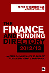 The Finance and Funding Directory 2012/13 by Wooller Jonathan