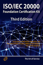 ISO/IEC 20000 Foundation Complete Certification Kit - Study Guide Book and Online Course - Third Edition by Ivanka Menken