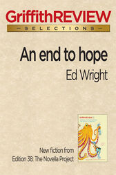 An end to hope by Ed Wright