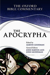 The Apocrypha by Martin Goodman