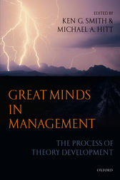 Great Minds in Management by Ken G. Smith