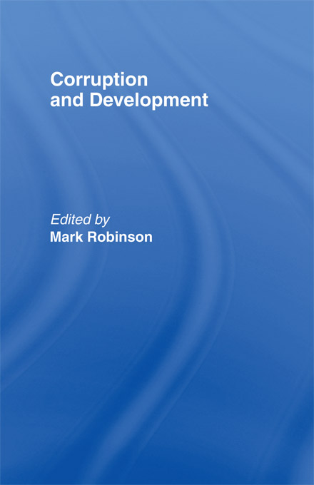 Download Ebook Corruption and Development by Mark Robinson Pdf