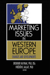 Marketing Issues in Western Europe by Erdener Kaynak