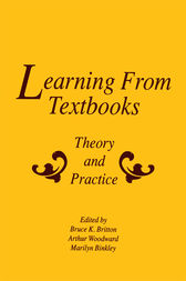 Learning From Textbooks by Bruce K. Britton
