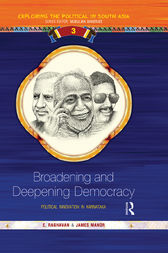 Broadening and Deepening Democracy by E Raghavan