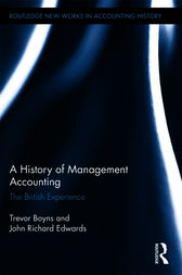 A History of Management Accounting by Richard Edwards