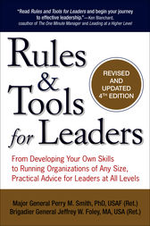 Rules & Tools for Leaders by Perry M. Smith