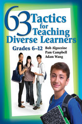 63 Tactics for Teaching Diverse Learners, Grades 6-12 by Bob Algozzine