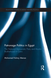 Patronage Politics in Egypt by Mohamed Fahmy Menza