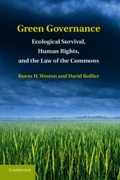 Green Governance by Burns H. Weston