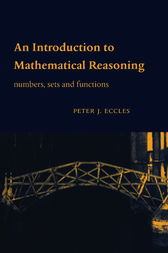 An Introduction To Mathematical Reasoning Eccles Pdf