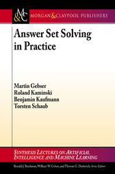 Answer Set Solving in Practice by Martin Gebser