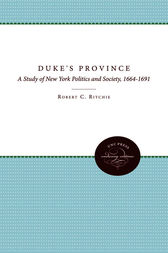 The Duke's Province by Robert C. Ritchie