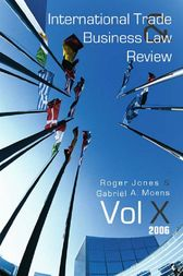International Trade and Business Law Review by Gabriel Moens