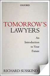 Tomorrow's Lawyers by Richard Susskind