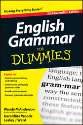English Grammar For Dummies by Wendy M. Anderson