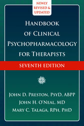 Handbook of Clinical Psychopharmacology for Therapists by John D. Preston