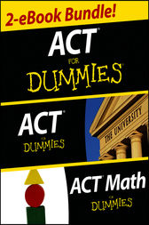 ACT For Dummies Two eBook Bundle by Scott A. Hatch