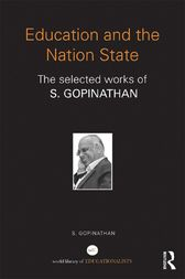 Education and the Nation State by S. Gopinathan