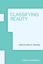 Classifying Reality by David S. Oderberg