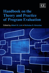 Handbook on the Theory and Practice of Program Evaluation by Albert N. Link